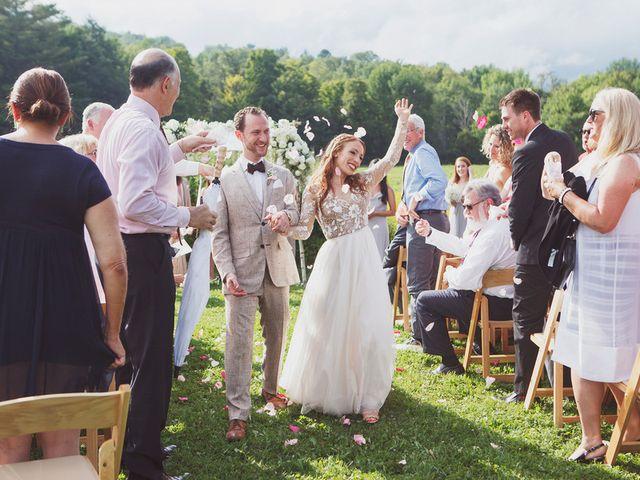 Charlotte and Matt's Wedding in Stowe, Vermont 26