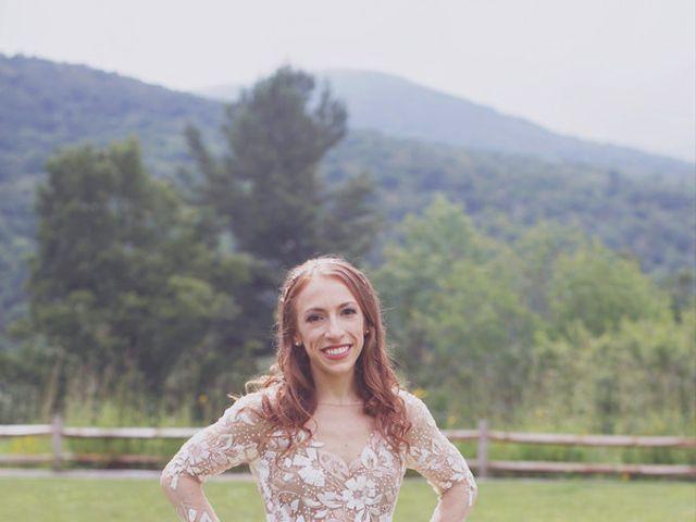 Charlotte and Matt's Wedding in Stowe, Vermont 7