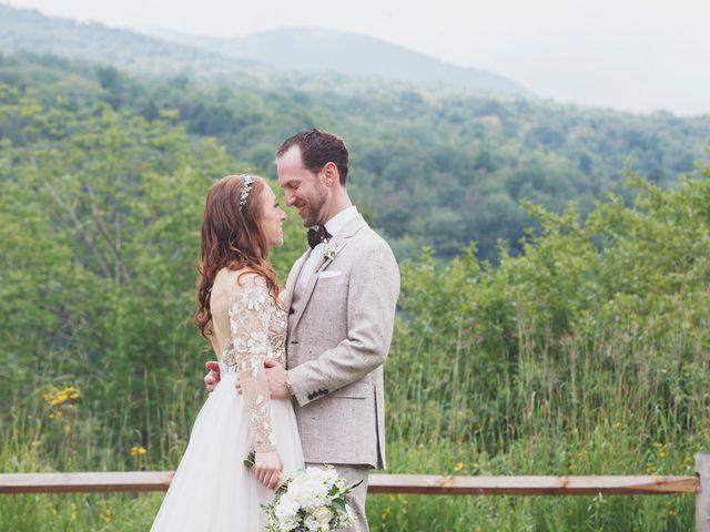 Charlotte and Matt's Wedding in Stowe, Vermont 14