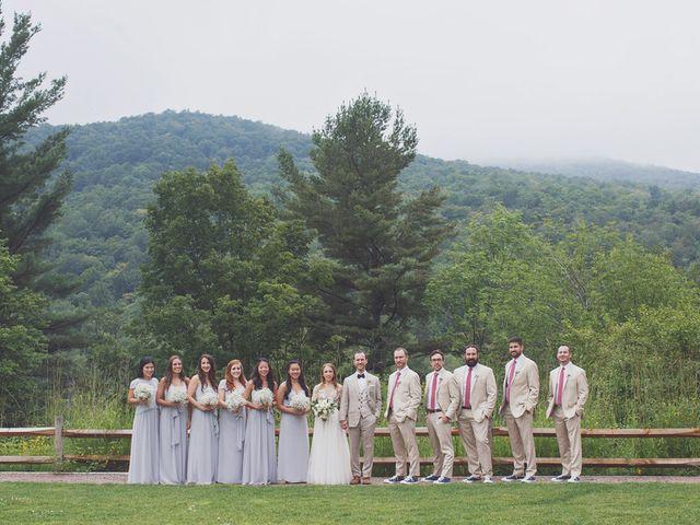 Charlotte and Matt's Wedding in Stowe, Vermont 27