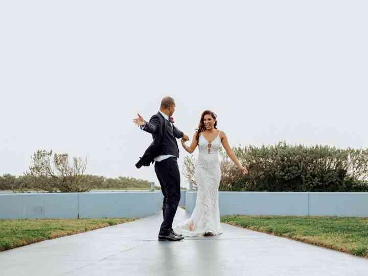 The wedding of Naomi and Derrick