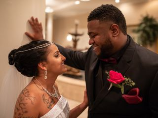 The wedding of Mariam and Corey