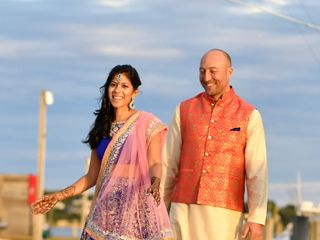 The wedding of Pooja and Travis