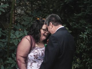 The wedding of Margaret and Tony