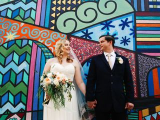 The wedding of Jess and Ben