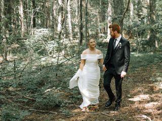 The wedding of Nick and Elizabeth