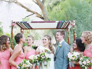 Liz and Kathleen's Wedding in North Palm Springs, California 3