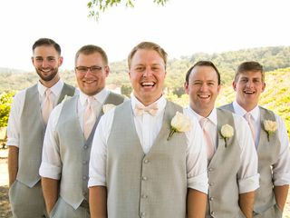 Jesse and Curtis's Wedding in Paso Robles, California 4