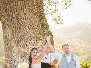 Jesse and Curtis's Wedding in Paso Robles, California 11