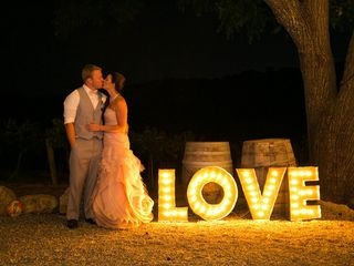Jesse and Curtis's Wedding in Paso Robles, California 24