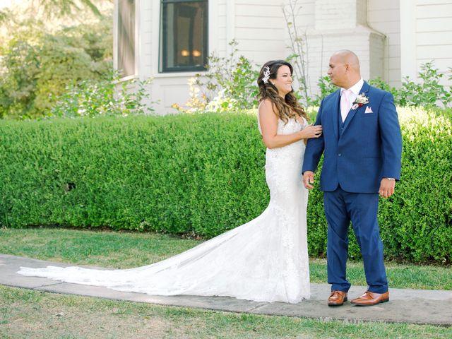The wedding of Lerone and Ashley