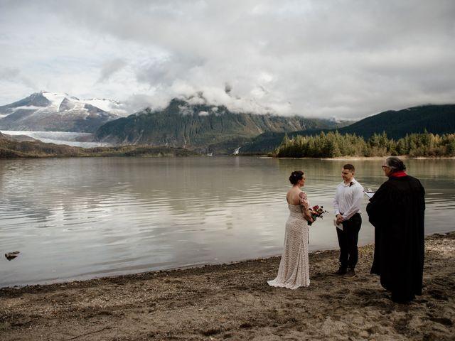 Joe and Samantha's Wedding in Juneau, Alaska 7