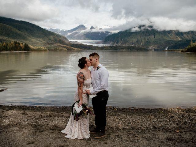 Joe and Samantha's Wedding in Juneau, Alaska 8