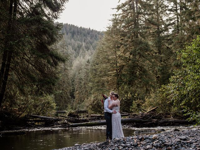 Joe and Samantha's Wedding in Juneau, Alaska 19