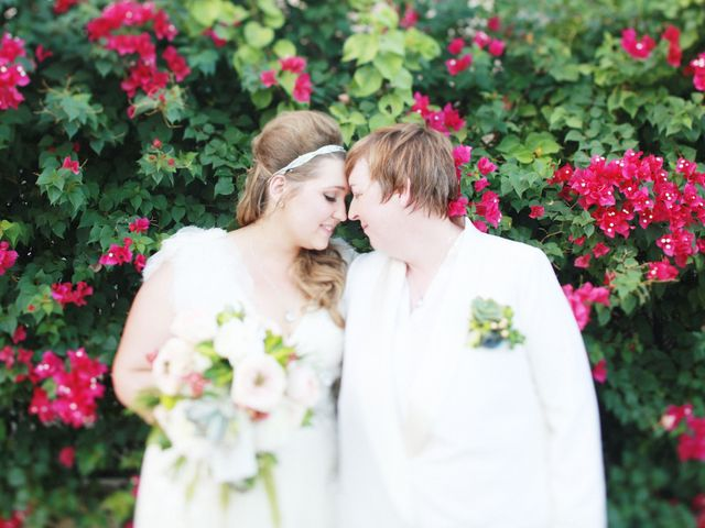 Liz and Kathleen's Wedding in North Palm Springs, California 1