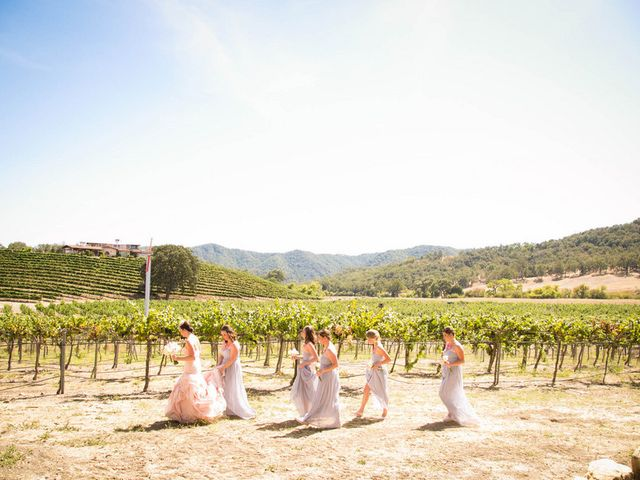 Jesse and Curtis's Wedding in Paso Robles, California 2