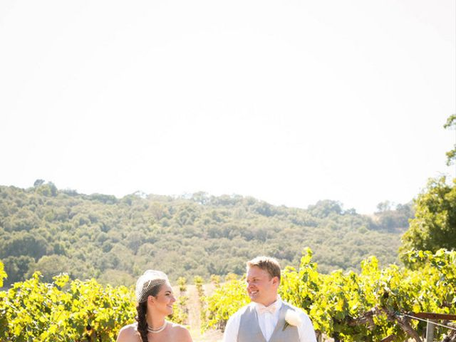 Jesse and Curtis's Wedding in Paso Robles, California 6