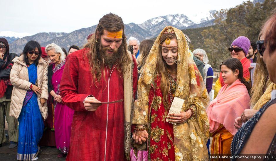 Sadie and Anthony's Wedding in Crestone, Colorado