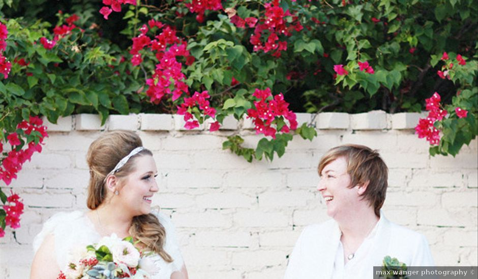 Liz and Kathleen's Wedding in North Palm Springs, California
