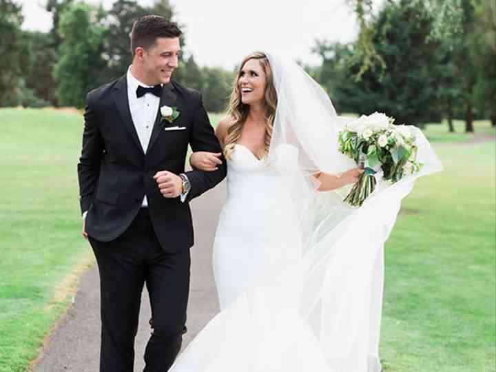 The wedding of Nicholas and Alyson