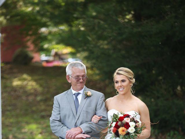 Emily and Joe's Wedding in Melbourne, Kentucky 11