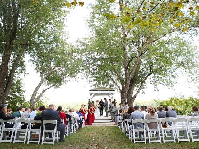Emily and Joe's Wedding in Melbourne, Kentucky 12
