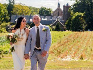 The wedding of Gabriela and George