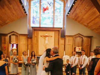 The wedding of Lauren and Maks 2