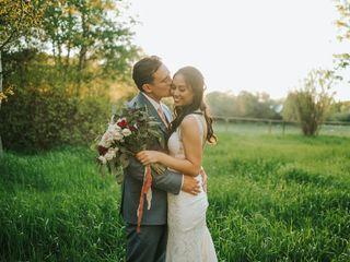 The wedding of Lauren and Maks