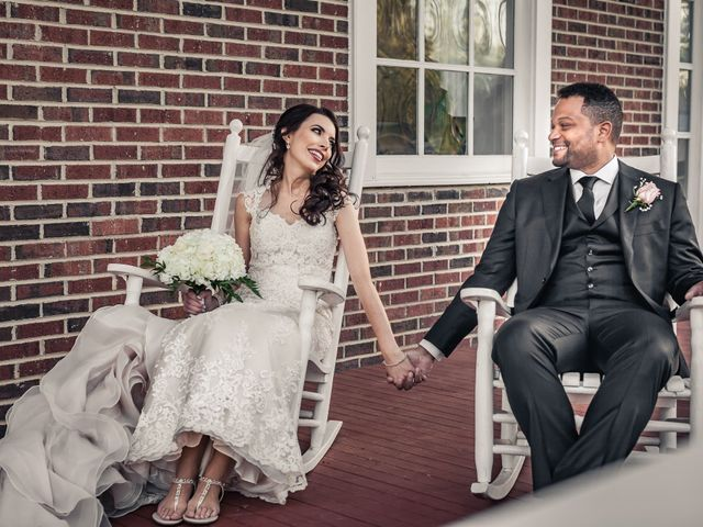 The wedding of Jessica and Antwine