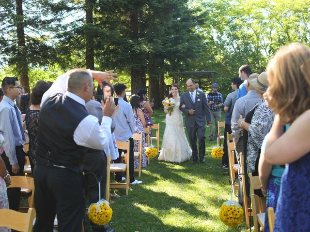 Agustin and Chelsea's Wedding in Kenwood, California 10