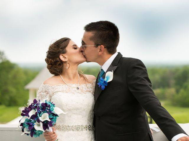 The wedding of Alexa and Davis