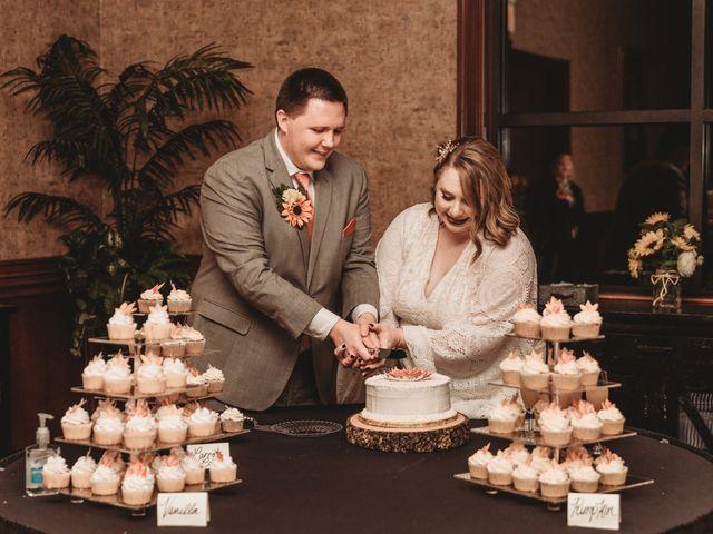 Marina and Evan's Wedding in Borden, Indiana 6