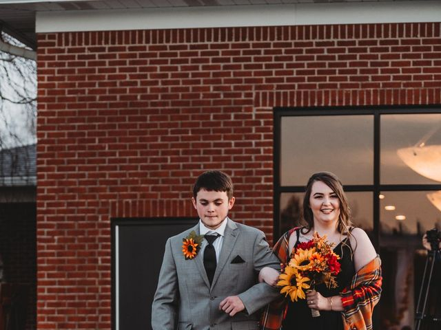 Marina and Evan's Wedding in Borden, Indiana 42