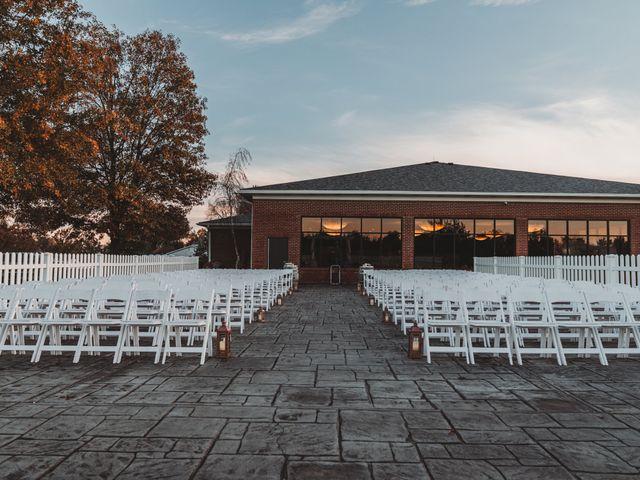Marina and Evan's Wedding in Borden, Indiana 46