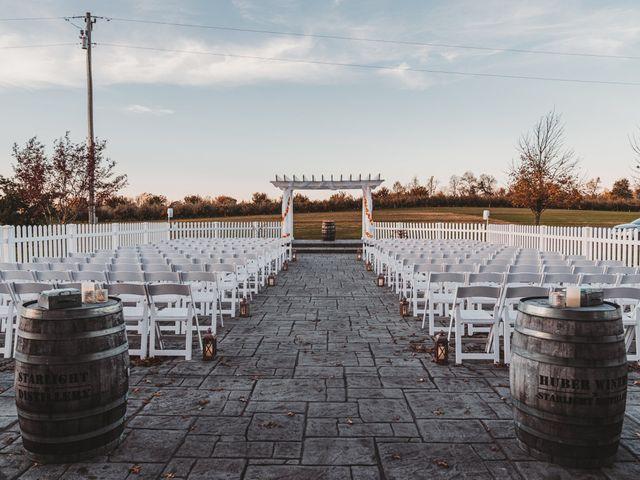 Marina and Evan's Wedding in Borden, Indiana 49