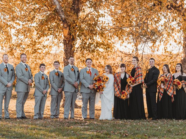 Marina and Evan's Wedding in Borden, Indiana 60