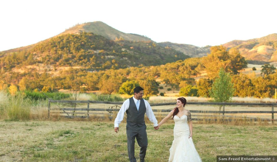 Agustin and Chelsea's Wedding in Kenwood, California