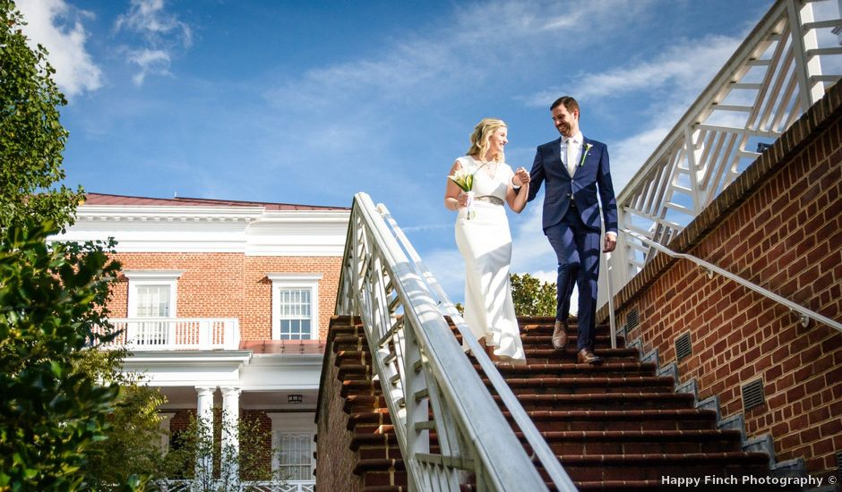 Chris and Ashley's Wedding in Charlottesville, Virginia