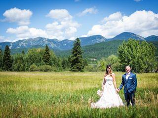 Tia and James's Wedding in Whitefish, Montana 3