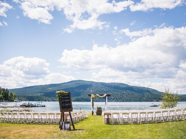 Tia and James's Wedding in Whitefish, Montana 13