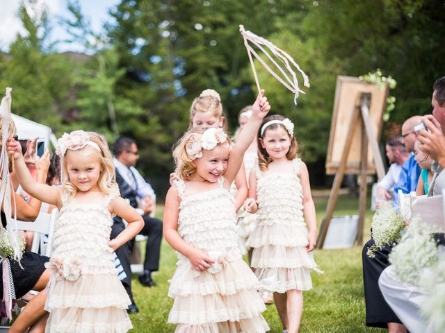 Tia and James's Wedding in Whitefish, Montana 16