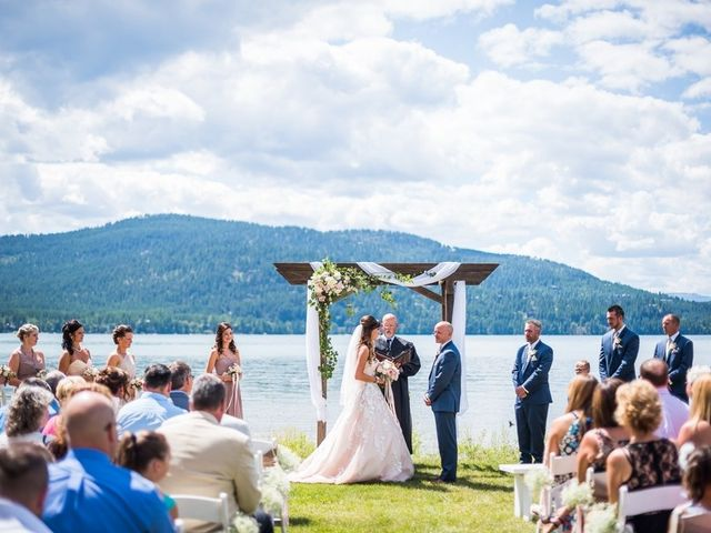 Tia and James's Wedding in Whitefish, Montana 19