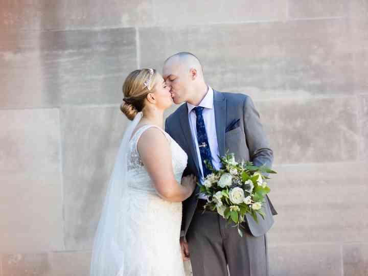 The wedding of LIsa and Frey