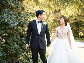 The wedding of Sophia and Sang 1