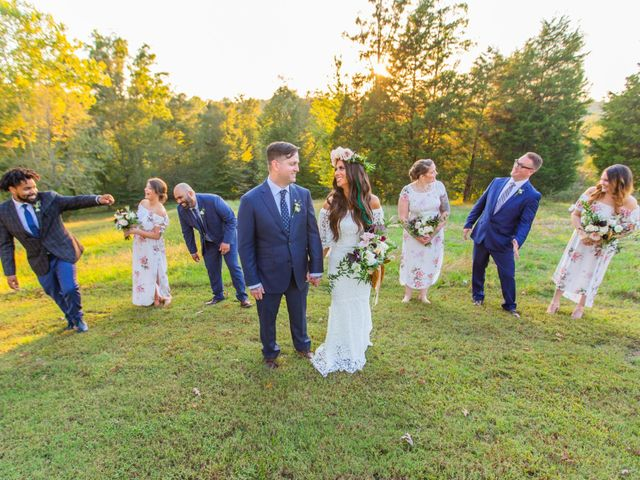 Jordan and Katie's Wedding in Charlotte, Tennessee 52