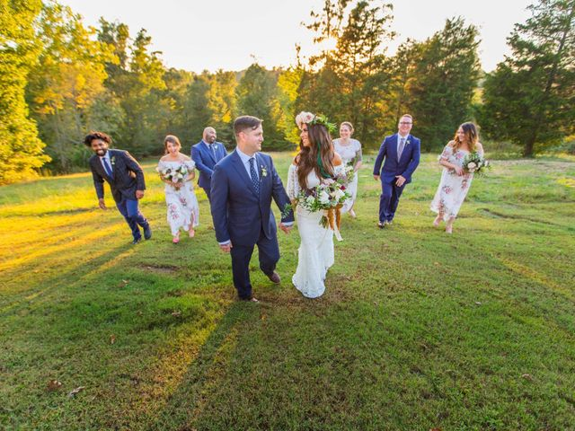 Jordan and Katie's Wedding in Charlotte, Tennessee 53