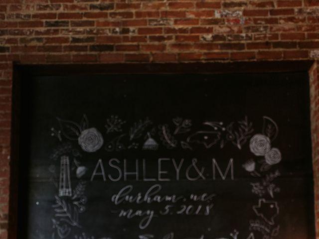 M Montero and Ashley's Wedding in Durham, North Carolina 33