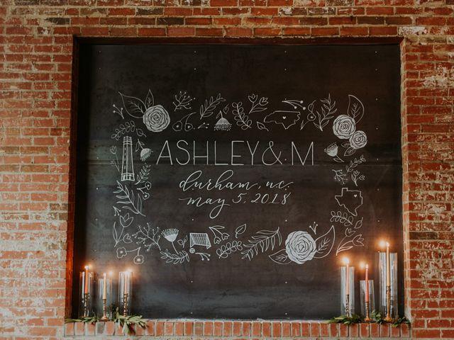 M Montero and Ashley's Wedding in Durham, North Carolina 37