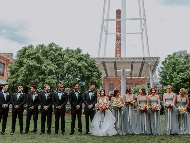 M Montero and Ashley's Wedding in Durham, North Carolina 103